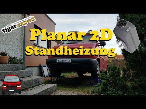 Planar 2D Standheizung einbauen - VW T4 Diesel