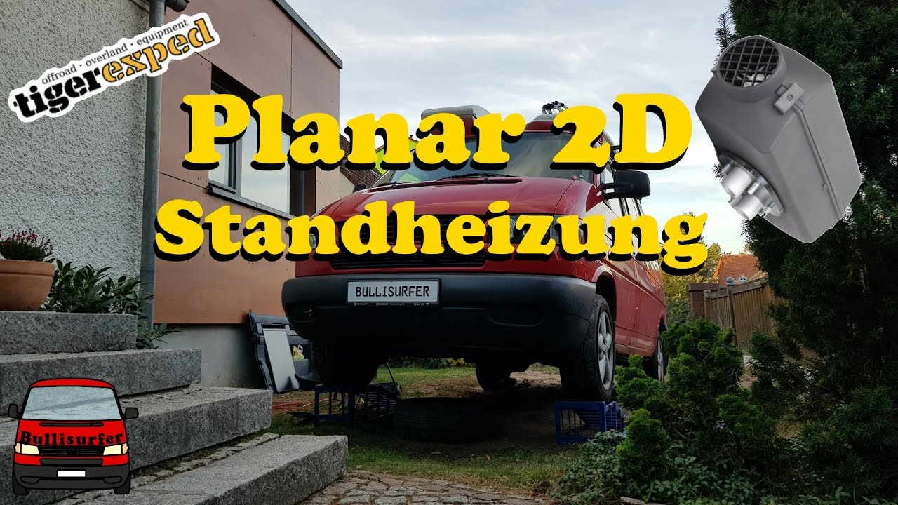 planar 2d standheizung einbauen vw t4 diesel youtube. Black Bedroom Furniture Sets. Home Design Ideas