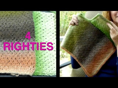 Watch How To Assemble 2-Panel PONCHO - Part 2/2 (4 Righties)