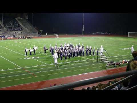Squalicum High School Marching Band - 26Oct17