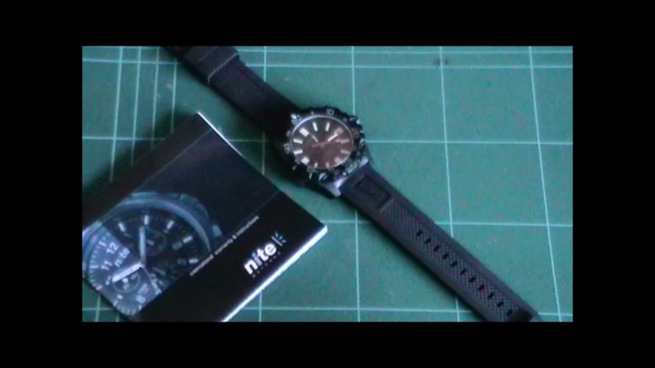 83e2d35103d0 HAWK Nite Watches - YouTube