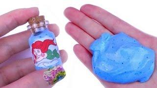 DIY Miniature Mermaid Slime 🌊