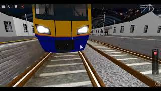Roblox [NEW] Class 378 London Overground Showcase Looking inside & Outside the Trains :)