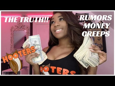 THE TRUTH ABOUT HOOTERS GIRLS