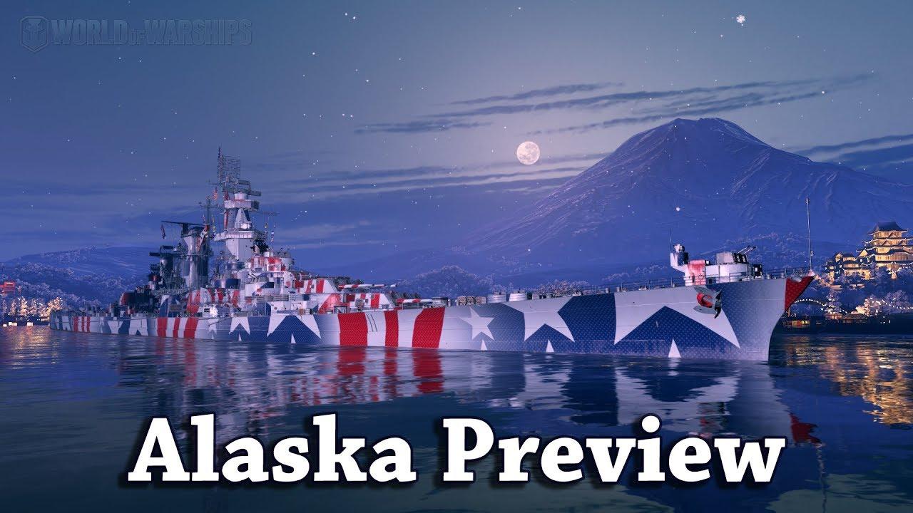 World of Warships: USS Alaska Preview [4K]