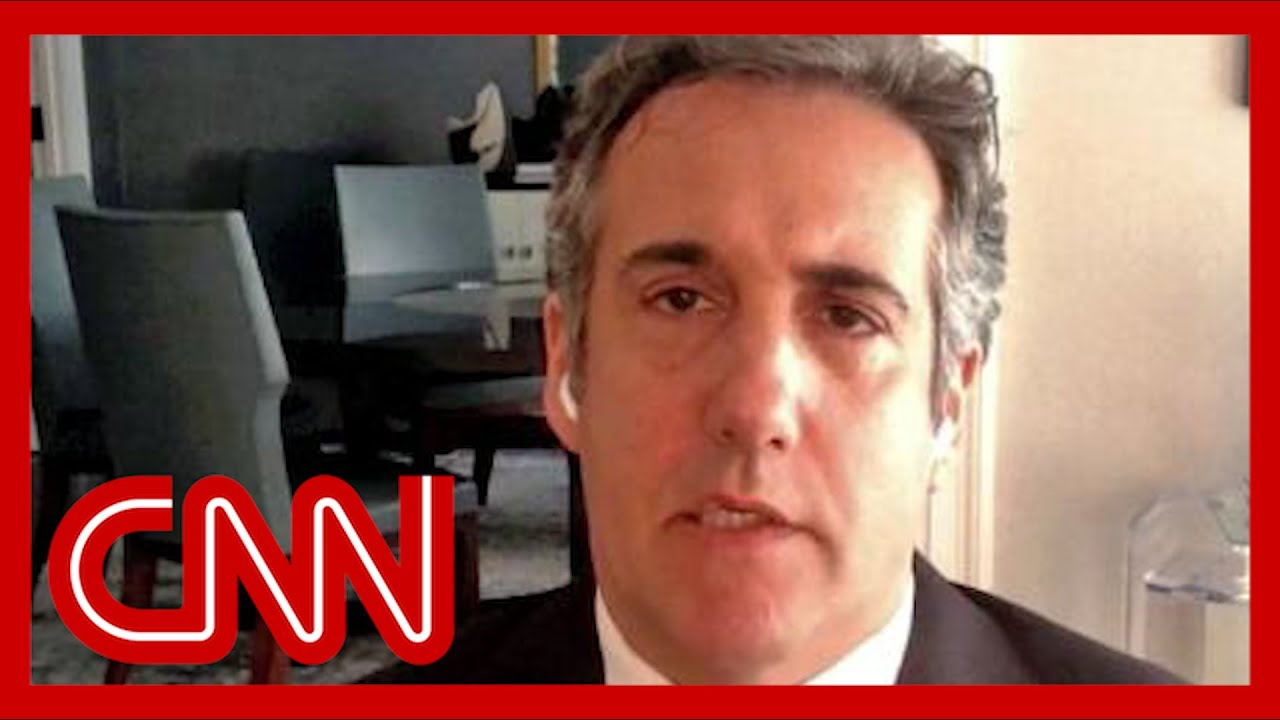 Download See Michael Cohen's reaction to Trump CFO's criminal charges