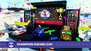 Cars 3 Driven to Win PS4 Gameplay Champion Racing