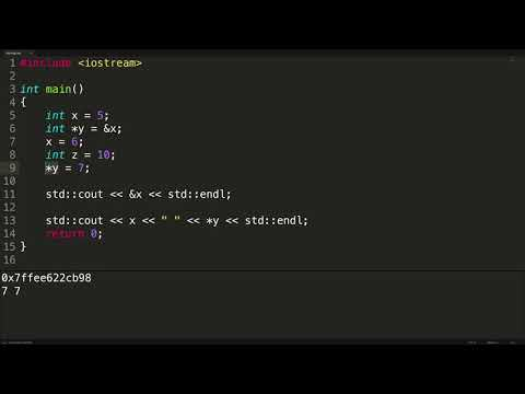 Working with C++ Pointers