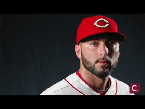 Cincinnati Reds spring training picture day behind the scenes