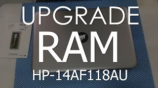 tutor upgrade ram laptop hp pavilion 14 af118au   nambah corsair value select 4gb