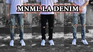 Best Affordable Jeans | MNML LA Denim Detailed Looks + On Body & Size Comparison