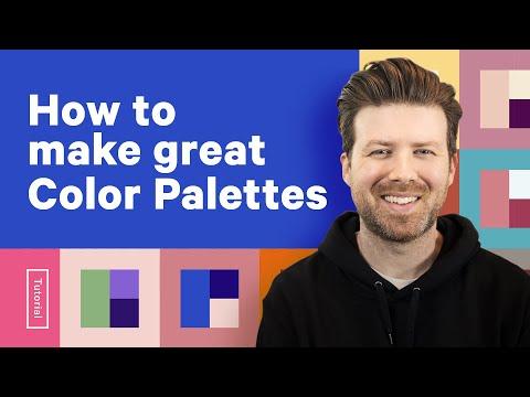 Make Hundreds of Color Palettes from 1 COLOR! - Design Tutorial