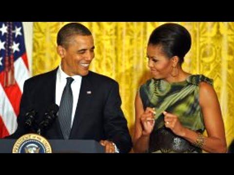 Barack Obama Teases Michelle Obama