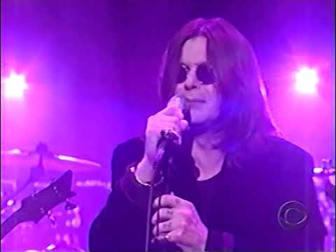 Black Sabbath - Letterman Show 1998 (720p60)