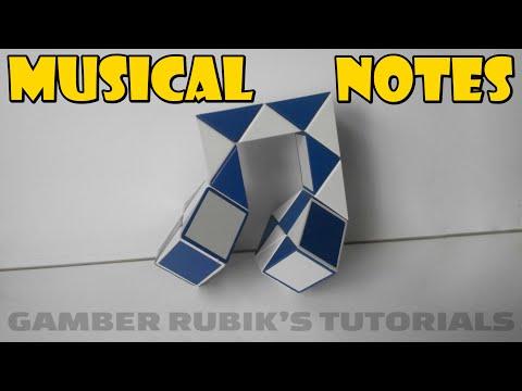Rubik's Twist 24 - Musical Notes