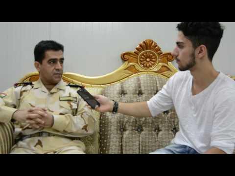 Interview with Staff Brigadier General Hazhar