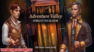 Walkthrough Levels 31 40 Adventure Valley Forgotten Manor 100 Doors For Android