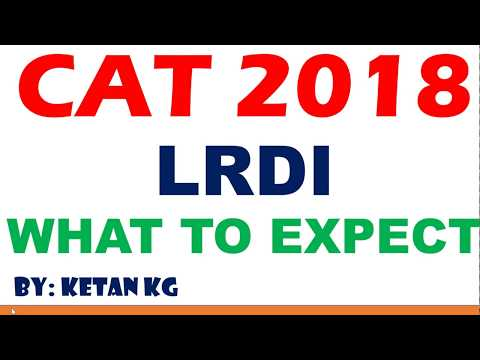 CAT 2018 | LRDI Analysis | What to Expect in Paper