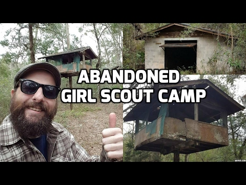 Abandoned Girl Scout Camp in the Withlacoochee Forest