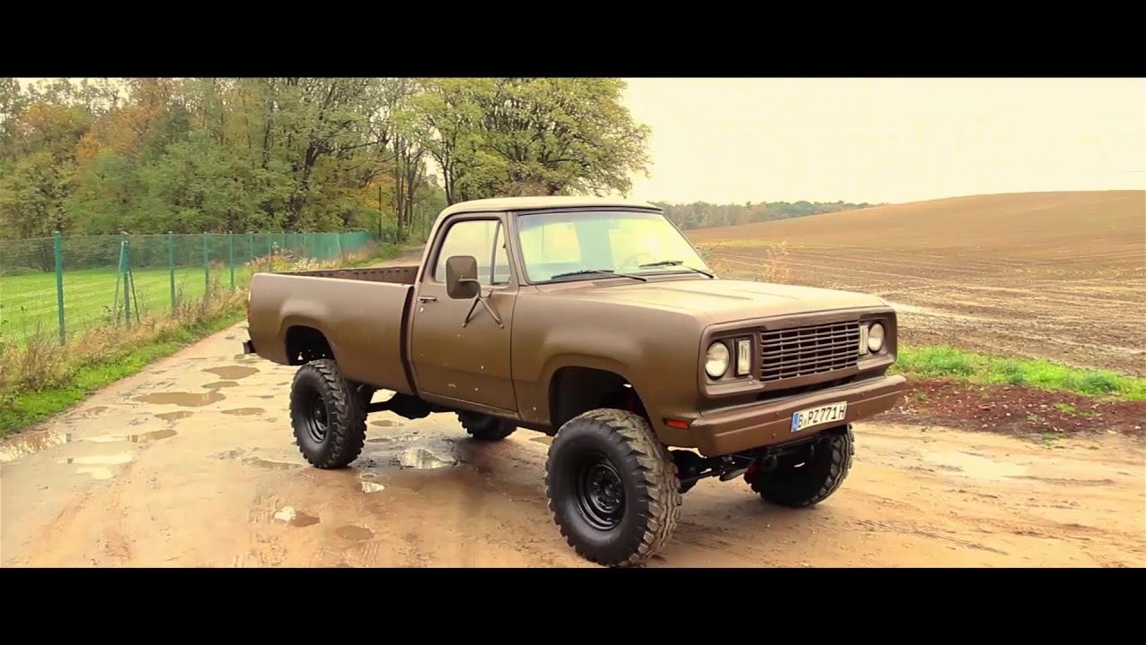1977 Dodge W200 V8 4X4 Pickup / CarPorn - YouTube