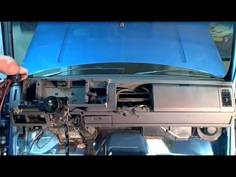 """1993 chevy dash removal"""" how to"""
