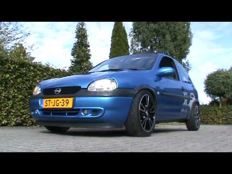 corsa b air ride - YouTube