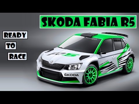 Skoda Fabia R5, Modified For The Rally Stage, Ready To Race