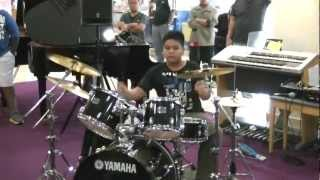 Avenged Sevenfold - Natural Born Killer drum cover (Yamaha Kid Drummer Malaysia)