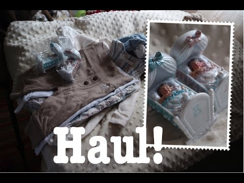 Reborn Baby Haul! Clothes for my dolls and fun miniature babies