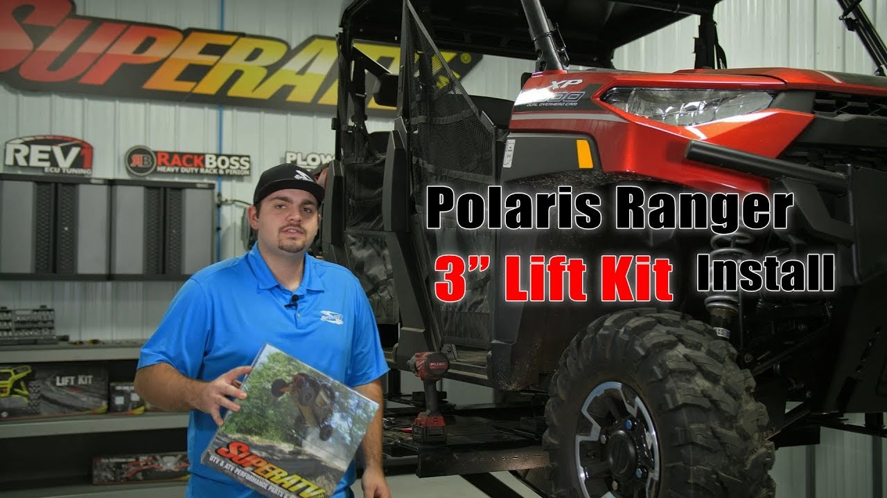 "2015-17 UTV 2/"" SUSPENSION LIFT KIT Polaris Ranger ETX"