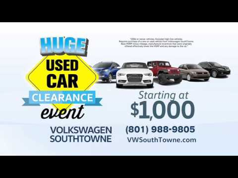 VW Southtowne MSRP Buy Out is BACK!!