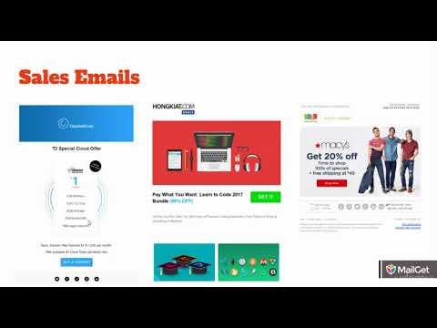 Email Marketing Sales Ninja : Video 4 - Examples Of Sales Emails