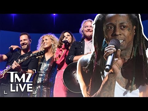 Lil Wayne Mix-Up With Little Big Town | TMZ Live