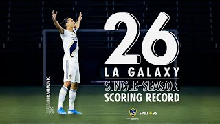 WATCH: Zlatan Ibrahimovic's record-breaking 26 goals for the LA Galaxy in 2019