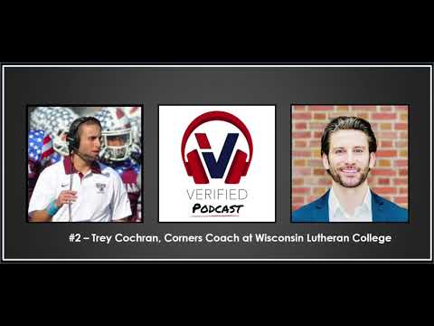 #2 - Trey Cochran, Corners Coach at Wisconsin Lutheran College