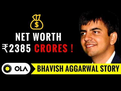 Thumbnail: OLA Cabs founder Bhavish Aggarwal Success Story | Indian Startups