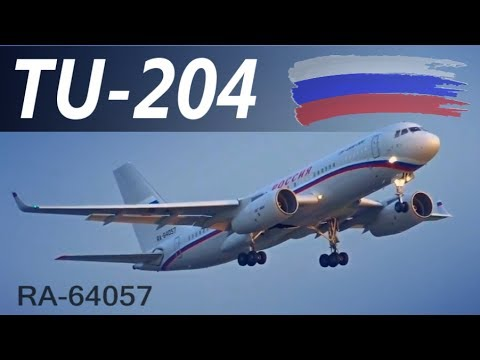Russia - Air Force Tupolev TU-204-300 |RA-64057| Close up & Takeoff @ Belgrade Airport