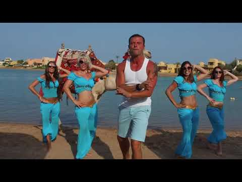 Swoop performing the new Three Corners Song in El Gouna