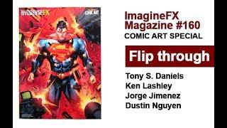 ImagineFX Magazine Comic Artist Issue 160 Flip Through - Tony S Daniels