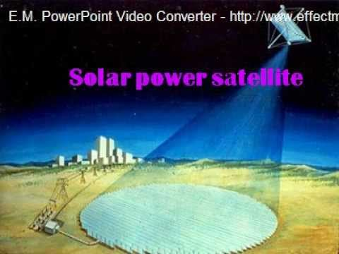 Risultati immagini per Solar Powered Satellite Project 1978