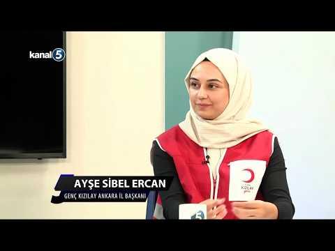 Genç Kızılay Bşk. Emre Koç, Ankara İb. Ayşe Sibel Ercan Yekpa Ahmet Ile MERKEZ ANKARA'da