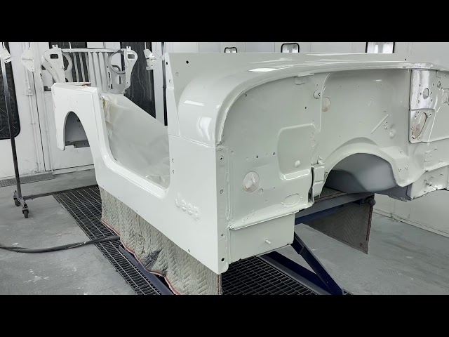 Mikes V8 Quadra Trac JC-7 Jeep Final paint