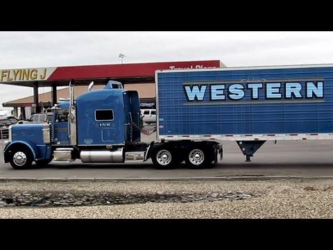 Western Trucking Company Truck