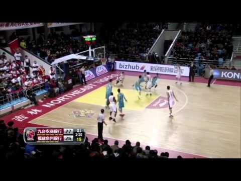 Micheal madanly CBA Jilin vs Fujian 7/1/2015