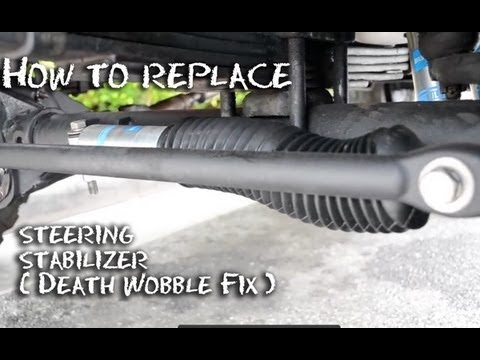 How To Replace 4 X 4 Steering Stabilizer Half Idiots