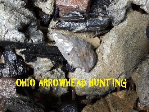 Ohio Treasure Hunting Ancient Indian Arrowhead Discovery River Hunters