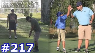 LUMPY GIVES GRANDPA A GOLF REMATCH FOR THE AGES! | BENNY NO | VLOG #217