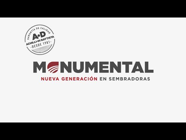 Sembradoras Monumental - Sistema Bosch
