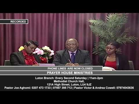 Live Topical Programme: How To Acquire The Divine Power And Authority Of Jesus Christ