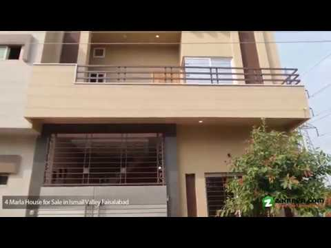 4 MARLA HOUSE AVAILABLE FOR SALE IN ISMAIL VALLEY FAISALABAD